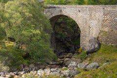 Allt Fearn Burn bridge near Dornoch, Scotland. Stock Photo