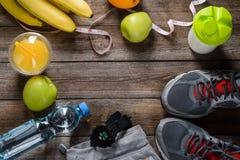 Allt som behövs för sund livsstil fotografering för bildbyråer