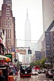Alltagsleben auf Allee acht in New York Lizenzfreie Stockbilder