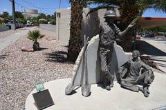 ALLTAGSLEBEN IN BOULDER-STADT NEVADA stockfotografie