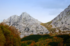 alluitz θέα βουνού Στοκ εικόνες με δικαίωμα ελεύθερης χρήσης