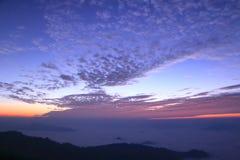 Allumage avant lever de soleil Photographie stock