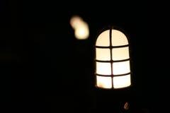 Allumage de lampes Photographie stock