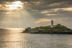 Allumage du phare Image libre de droits