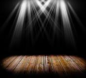 Allumage sur un étage en bois Photos libres de droits