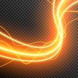 Allumant le vecteur électrique d'étincelle de lueur d'orage transparent illustration de vecteur