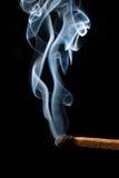 Allumette de brûlure photo stock