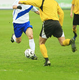Allumette de football images libres de droits