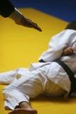 Allumette de judo photographie stock