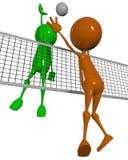 Allumette de volleyball Photographie stock libre de droits