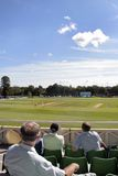 Allumette et spectateurs de cricket photos stock