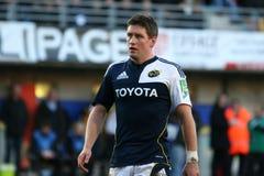 Allumette USAP de rugby de cuvette de Heineken contre Munster Photo libre de droits