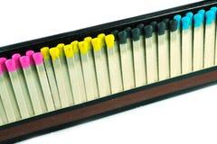 allumettes colorées Photographie stock libre de droits