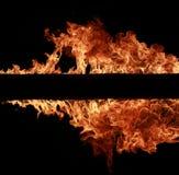 Allumez les flammes image libre de droits