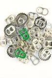 Alluminio aperto tirato Fotografia Stock