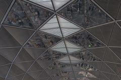 Alluminio del soffitto Immagine Stock