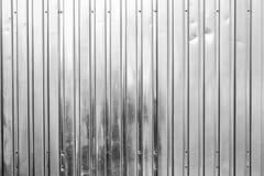 Alluminio dell'acciaio del fondo Fotografia Stock