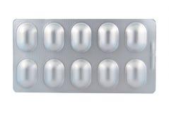 Alluminio di blister Immagine Stock Libera da Diritti