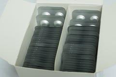 Alluminio di blister Fotografia Stock