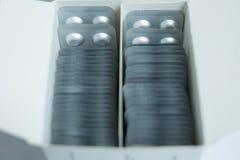 Alluminio di blister Fotografie Stock Libere da Diritti