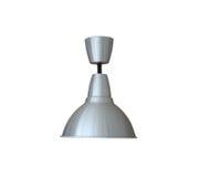 Alluminio di illuminazione di colore d'argento isolato su fondo bianco Immagini Stock Libere da Diritti