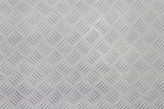 Alluminio di superficie antisdrucciolevole Immagine Stock
