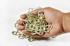 Alluminio di tirata dell'anello Immagine Stock Libera da Diritti