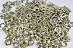 Alluminio di tirata dell'anello Immagini Stock Libere da Diritti