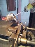 alluminio Fonderia-fuso Immagini Stock