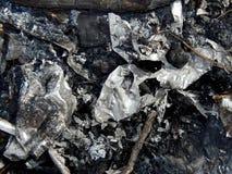 Alluminio fuso al palo Fotografie Stock Libere da Diritti