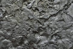 Alluminio liquido solidificato Fotografie Stock Libere da Diritti
