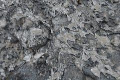 Alluminio liquido solidificato Immagini Stock Libere da Diritti