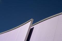 Alluminio ondulato Fotografia Stock Libera da Diritti