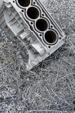 Alluminio-Riciclaggio Immagine Stock