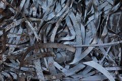 Alluminio riciclato Fotografie Stock Libere da Diritti