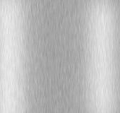 Alluminio spazzolato Immagine Stock