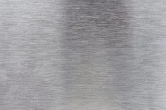 Alluminio spazzolato Fotografia Stock Libera da Diritti