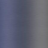 Alluminio spazzolato blu Fotografia Stock Libera da Diritti