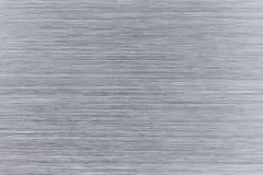 Alluminio spazzolato di piastra metallica fotografie stock