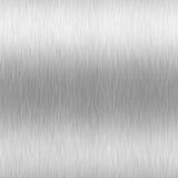 Alluminio spazzolato High-Contrast Fotografie Stock