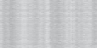 Alluminio spazzolato senza giunte Fotografia Stock