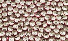 Alluminio vaccino del tappo di bottiglia, uso di plastica di alluminio per prosthe Fotografia Stock Libera da Diritti