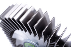 Alluminium cpu cooler Royalty Free Stock Images