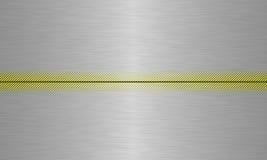 Alluminium de plaque métallique Image libre de droits