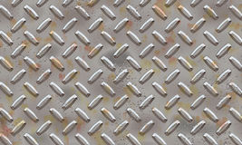 Alluminium metal plate Stock Photo