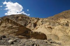 Alluna il paesaggio in Lamayuru a Leh, India Fotografia Stock