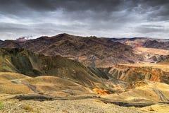 Alluna, Ladakh, il Jammu e Kashmir, India Immagini Stock