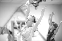 allungamenti di Post-allenamento Fotografia Stock Libera da Diritti