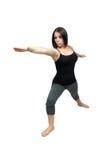 Allungamento atletico della donna (2) Immagini Stock Libere da Diritti