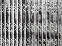 Allungamento d'acciaio della porta Fotografie Stock